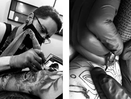 tatuadores en madrid aguja